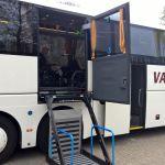 Rolstoel touringcar met lift