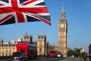 Londen met big ben en Parlement